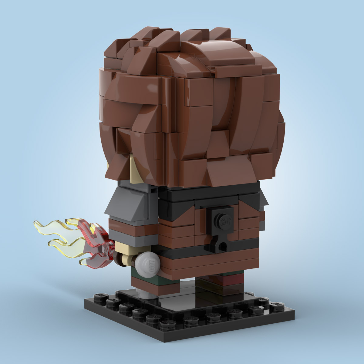 PDF INSTRUCTIONS ONLY Lego Brickheadz How to train your Dragon NO BRICKS!