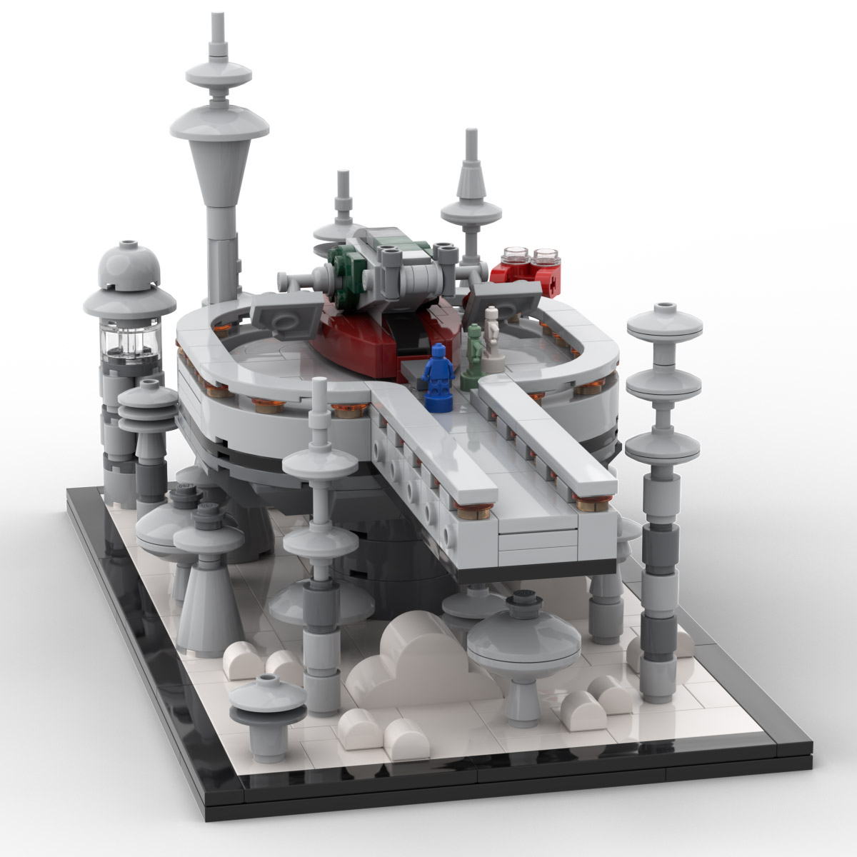 Lego Star Wars Cloud City Slave 1 Display Set